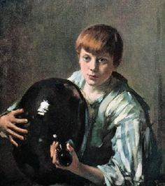 A jigsaw puzzle you can play online: Boy and Jug