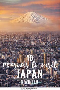 10 Reasons You Should Visit Japan In Winter