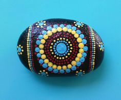 Painted Rock / Miranda / Montana River Stone by SouthernGirlOutWest on Etsy