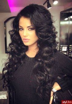 Black gorgeous waves <3 | 100% Remy Clip in human hair extensions| Prices start from just £34.99| 45 shades available | Extra thick double wefted | Free worldwide delivery | visit www.cliphair.co.uk