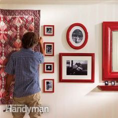 Level Hanging: Hang Artwork and Wall-hangings Straight and Level With these four techniques, you can hang just about anything on your walls, and keep it there