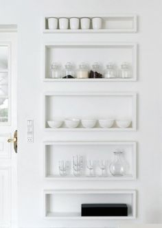 shelves - could be on the back of a door