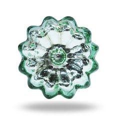 Mirror Glass Knob San Polo Green