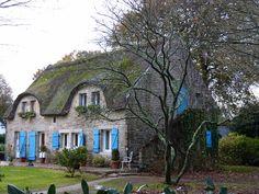 Maison de Cendrillon en Bretagne (Cinderella house in Brittany, France)