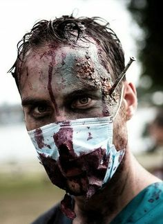 Halloween Makeup Ideas For A Horror Exciting Men Face - Decor10