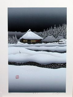 https://flic.kr/p/81oFw9 | MIYAMOTO Shufu 2003 The Moonlit Snow