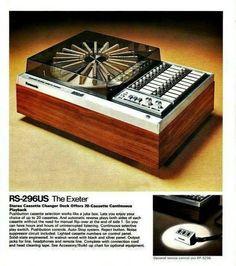 Twenty-Cassette Deck Player