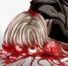 Gore Aesthetic, Aesthetic Anime, Sixpack Workout, Ero Guro, Cybergoth, Creepy Cute, Anime Angel, Wall Collage, Dark Art