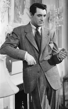 """""""Be Overdressed"""" via A Suitable Wardrobe    Cary Grant    Live a luscious life with LUSCIOUS: www.myLusciousLife.com"""