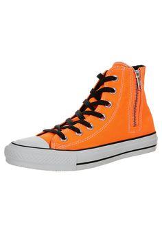 Converse - ALL STAR HI SIDE ZIP CANVAS - Sneakers hoog - Oranje