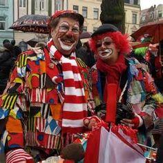 Rosenmontag - Clowns