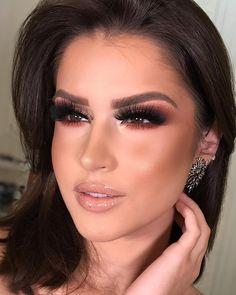 Boa noite amores ✨ o que acharam dessa make cara de Rycaaa ? How To Do Makeup, How To Make Hair, Love Makeup, Makeup Inspo, Makeup Inspiration, Makeup Goals, Makeup Tips, Beauty Makeup, Makeup Ideas