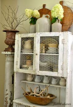 * ▇  #Vintage #Home #Decor  via - Christina Khandan  on IrvineHomeBlog - Irvine, California ༺ ℭƘ ༻