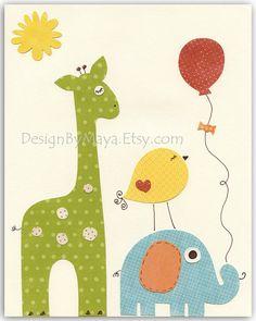 Baby Room decor Nursery Art Decor Kids Print baby by DesignByMaya, $17.00