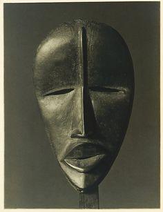 [Dan Mask]  from Ivory Coast   Charles Sheeler ca. 1918   Gelatin silver print