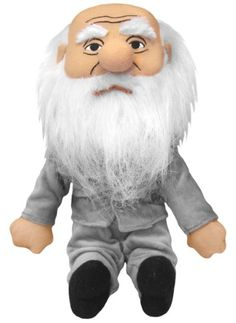 Charles Darwin Little Thinker Plush - Just like human beings and finches, dolls evolve, too. So get yourself a Charles Darwin Little Thinker Doll — It would be a natural selection!
