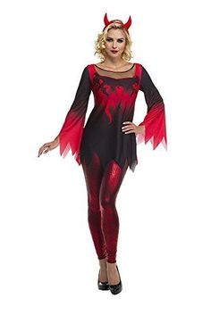Palamon Womens Devil Costume Red Small for sale online Devil Halloween Costumes, Devil Costume, Harvard Sweatshirt, Shirt Quilt, Oversized Shirt, Sweater Fashion, Wonder Woman, Plaid, Superhero