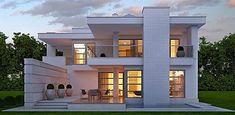An elegant family house: houses of lk & projekt gmbh, mo .- Ein elegantes einfamilienhaus: häuser von lk&projekt gmbh,modern An elegant single-family house: modern houses by LK & Projekt GmbH -