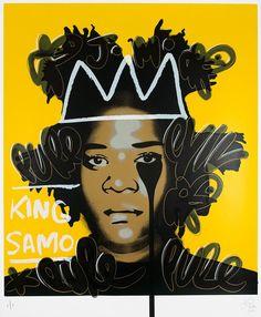 Pure Evil, Jean Michel Basquiat's Nightmare - Taggy dreads