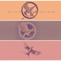 "One important quote from each book :) 1)""May the odds be ever in your favor""   2)""Tik tok this is a clock""    3)""Real or not real"""