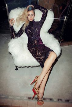 Alice Dellal, glam-punk princesse