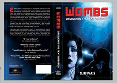 2nd Edition Book cover design for Wombs, by Cliff Paris. Illustrated by A. F. Turner