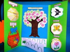 Collegamento Shapes Worksheets, D Book, Origami And Kirigami, Teaching Materials, Interactive Notebooks, Diy Crafts Videos, Mini Books, Wall Murals, Preschool