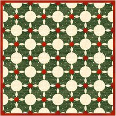 = free template = Yuletide Quilt Block Pattern at Block Central