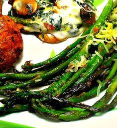 Easy Roasted Asparagus.  Yum!