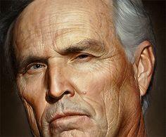 Amazing Hyper-Realistic Oil Portrait Paintings by Bryan Drury Hyperrealistic Drawing, Hyper Realistic Paintings, Oil Portrait, Amazing Drawings, Photorealism, First Art, Realism Art, Magazine Art, Art History