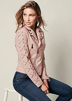 Women's Jackets: Suede, Leather, & Knit Jackets by VENUS