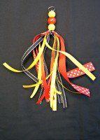 Make a DIY Disney Keychain with this Ribbon Tassel Keychain Tutorial! Perfect as a DIY Disney gift idea or a Christmas stocking stuffer! How To Make Ribbon, Diy Ribbon, Ribbon Crafts, Disney Diy, Diy Tassel, Tassels, How To Make Keychains, Disney Keychain, Ribbon Organization