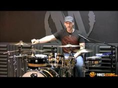 "▶ DRUM LESSON: 32nd Note ""PEPAMINT"" Groove by Mike Johnston - YouTube"