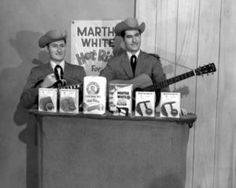 The Martha White Mills Company, well-known for its sponsorship of the Grand Ole Opry, was responsible for getting Jim and Jesse on stage at the Opry in 1962 (photo courtesy of JimandJesse.com)