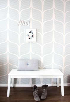 Self adhesive vinyl temporary removable wallpaper wall por Betapet