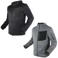 Condor Cirrus Polyester Fleece Jacket Tactical Operator Winter Coat 101136