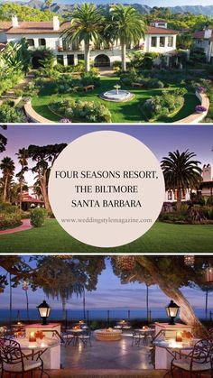 Hotel Wedding, Luxury Wedding, Wedding Ceremony, Biltmore Santa Barbara, Beach Honeymoon Destinations, Four Seasons, Weekend Getaways, Unique Weddings, The Incredibles