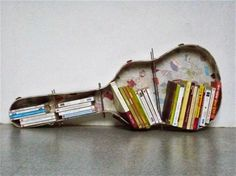unique-upcycled-guitar-case-bookshelves-by-elodie-flamant.jpg (1200×898)