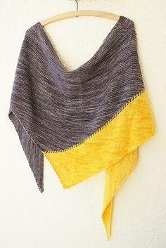 mountain of light Koh-i-Noor shawl - pattern by Alexandra Wiedmayer