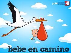 Resultado de imagen para ilustraciones divertidas llegada de bebé