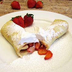 ... Recipe: Crepes on Pinterest | Banana crepes, Crepes and Nutella crepes