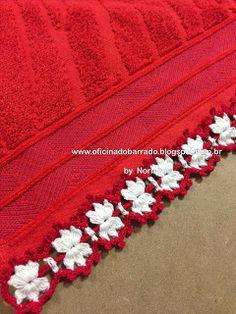 OFICINA DO BARRADO: Croche - NATAL ... Bons Motivos para Barrar ...