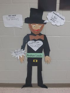 Life-Size Famous Americans Project- so fun and easy!
