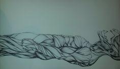 Ilandi Barkhuizen. 2014. Pen on Fabriano. A1. Hybrid (Cannibal)