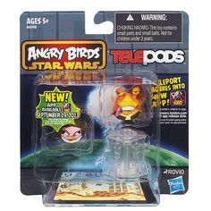 """Angry Birds Star Wars Telepods 2-Pack - Hasbro - Toys """"R"""" Us- Evan"""