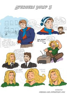 Avengers Dump 3 by LauraDoodles on deviantART
