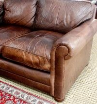 Reupholstery Modhomeec Cushions On Sofa Leather Couch Repair Leather Sofa