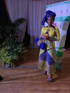 Venda Traditional Attire, African Fashion Traditional, Traditional Outfits, Xhosa Attire, African Attire, African Wear, African Fashion Ankara, African Print Fashion, Africa Fashion