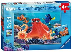 Ravensburger Disney Finding Dory 2 Pack Puzzle 24 Piece >>> Read more reviews of the product by visiting the link on the image.