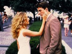 Carrie: Your girl is lovely, Hubbell.   Mr. Big: I don't get it.   Carrie: And you never did.
